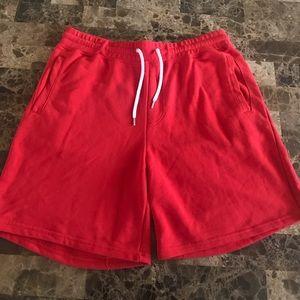 Red Forever 21 MEN shorts